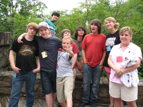 Will, Andrew, Jackson, William, Noah, Bailey, Tressa, Marsha
