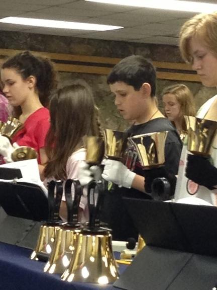 kids in bells