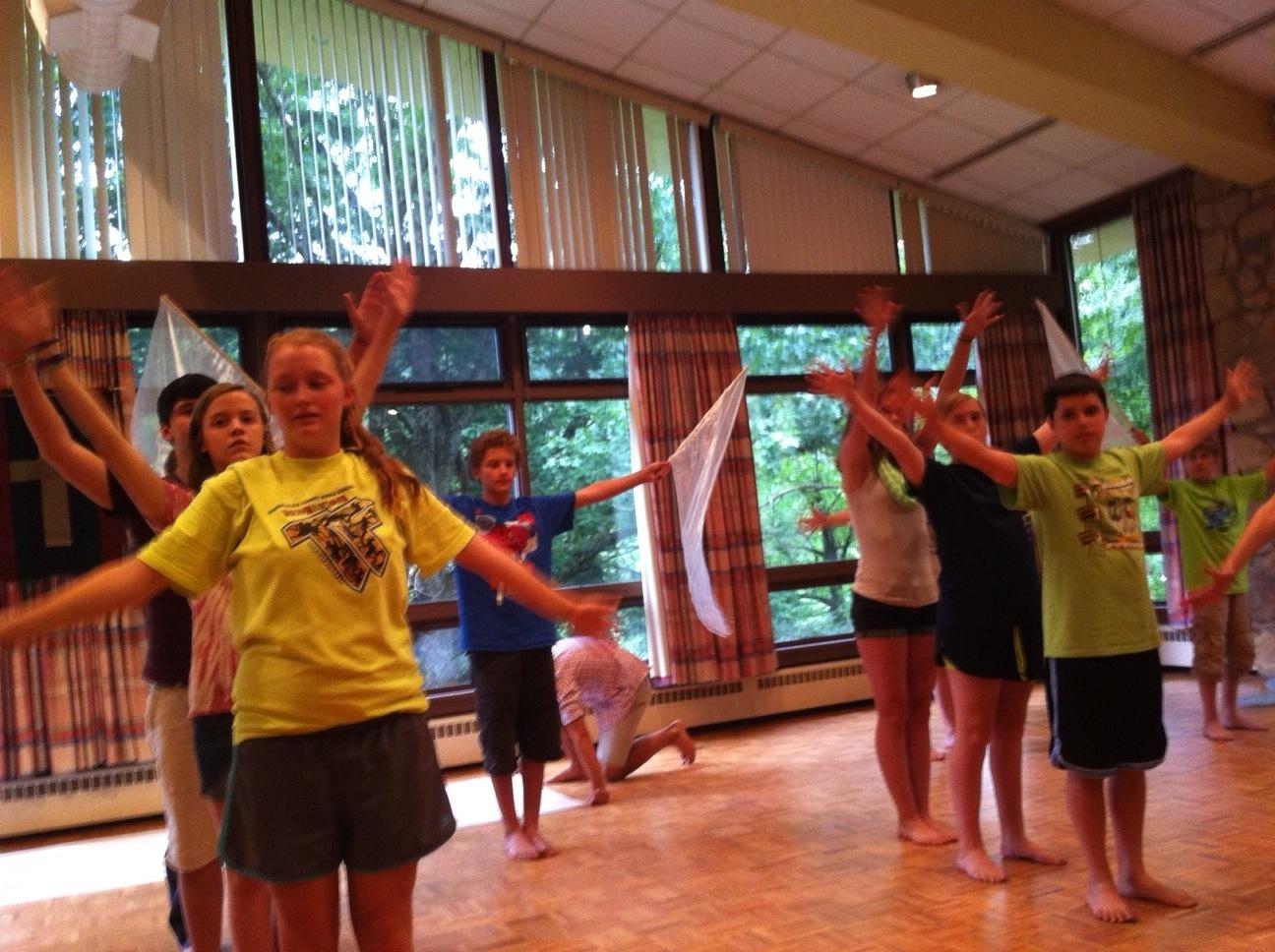 liturgical dance class
