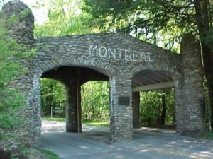 Montreat entrance